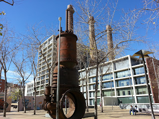 View of 3 chimneys park on barcelona sights blog