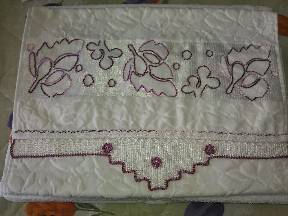 dantel havlu kenarları