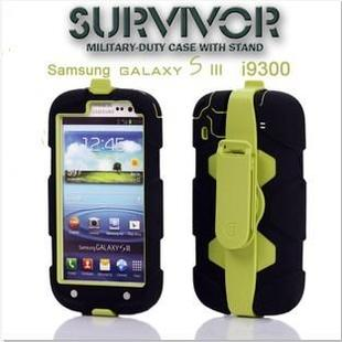 Survivor Protective Case with Stand for SAMSUNG Galaxy S3