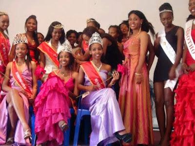 Miss World Lesotho 2014 Nthole Foxie Matela