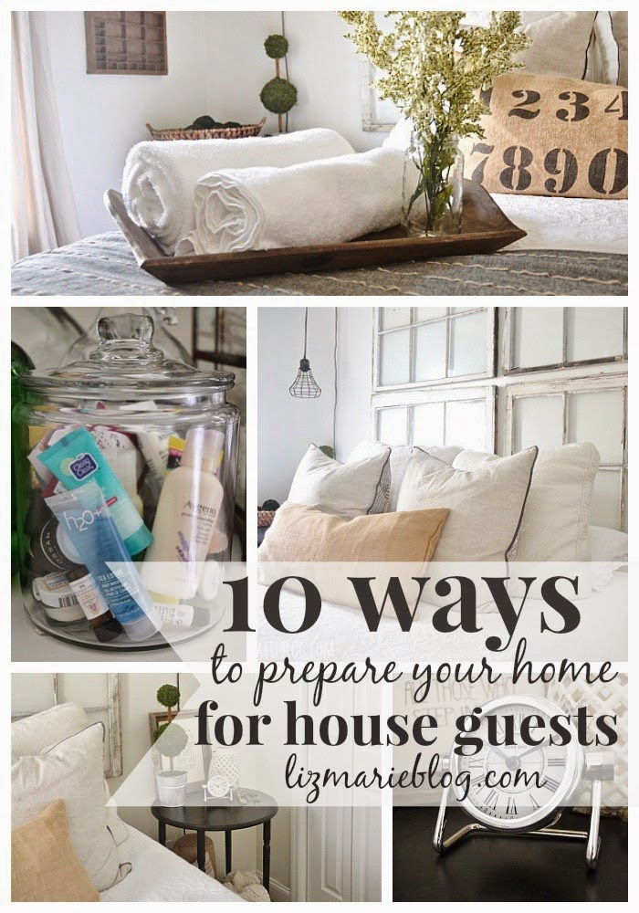 10 Ways To Prepare Your Home For Overnight Guests
