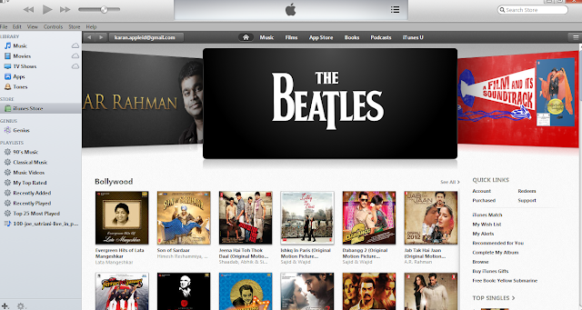 iTunes Store Launches in India and other 55 countries