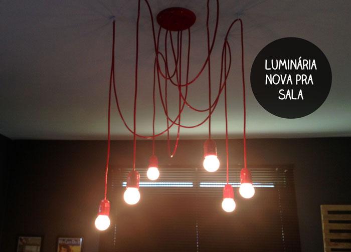 Casa de Colorir Como fazer uma luminária pendente (e  ~ Como Fazer Uma Luminaria Para Quarto