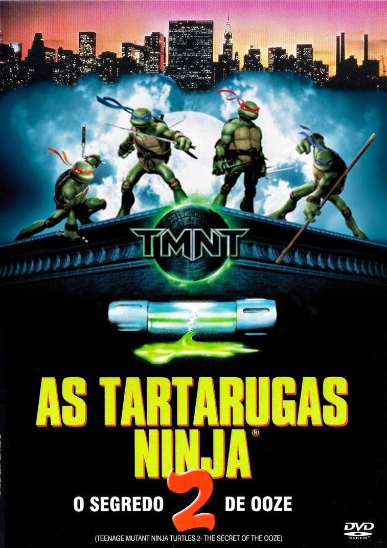 As Tartarugas Ninja 2: O Segredo do Ooze – Dublado (1991)