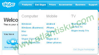 Cara Mendaftar Skype