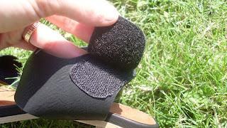 sandales à scratchs