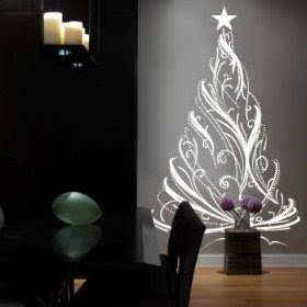 Christmas Tree Wall Decal Idea | Christmas Tree Vinyl Wall Decal Part 56