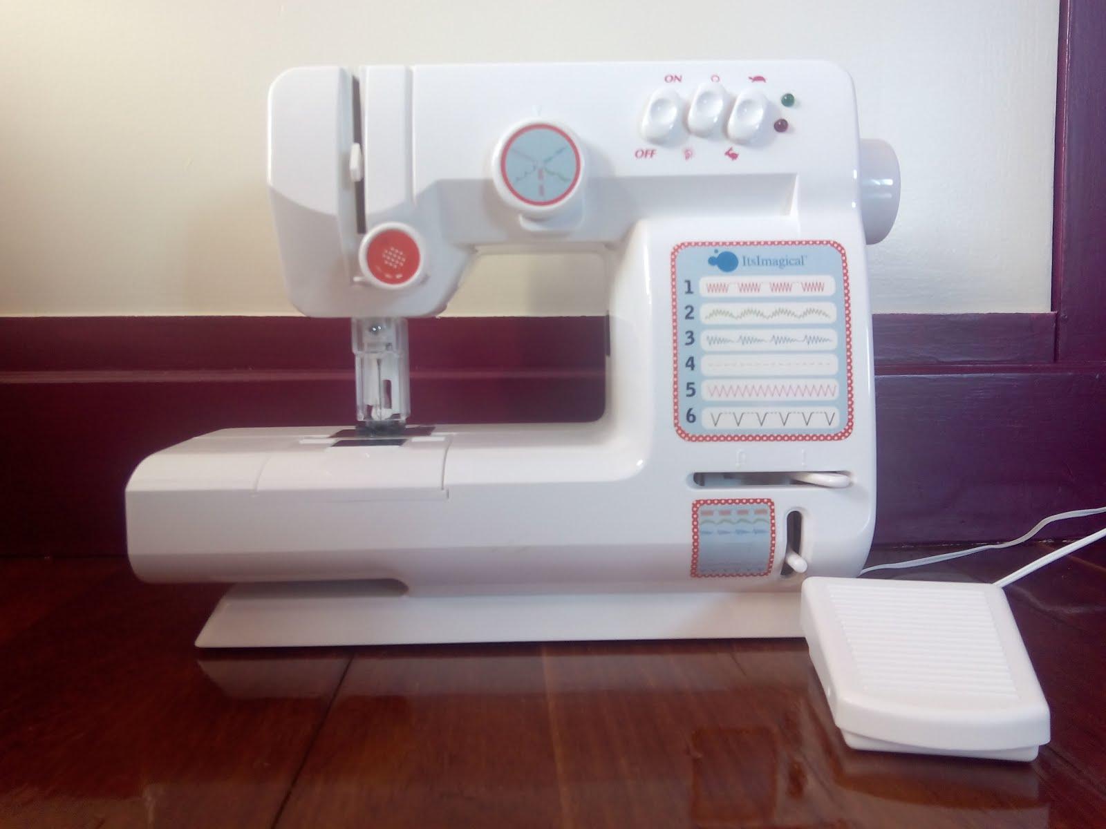 MamAguja: Maquina de coser infantil Imaginarium