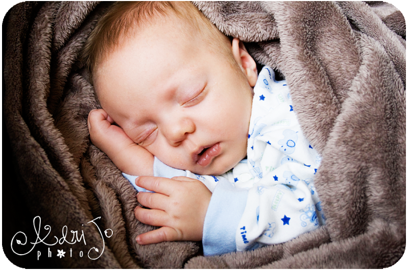 {Sleeping Newborn} My Little Man