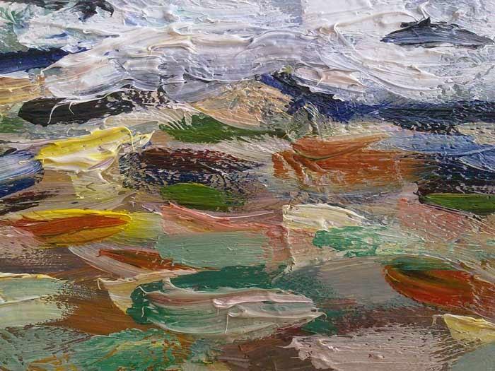 texturas con oleo