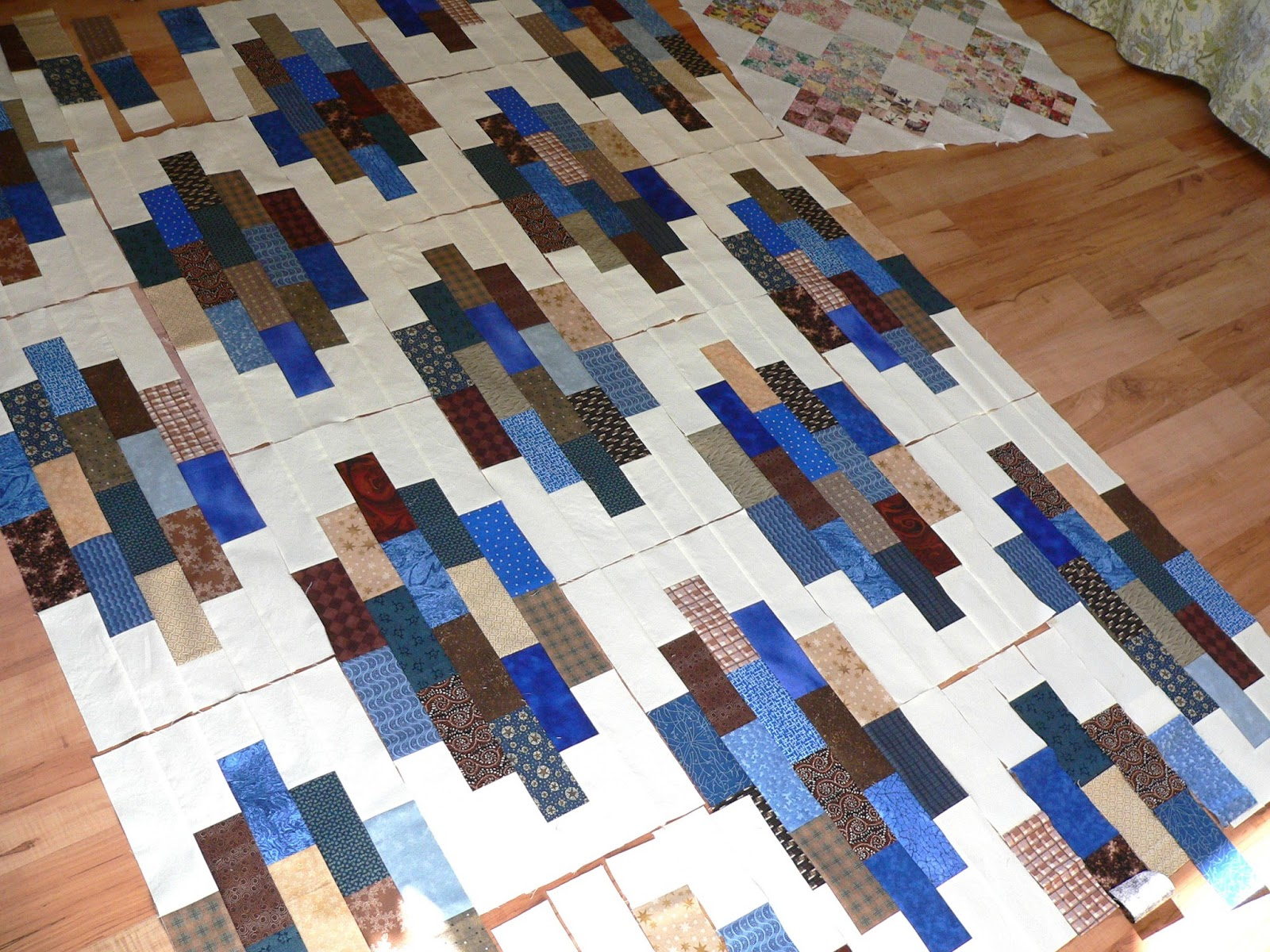 Asimplelife Quilts Crossroads In Brown