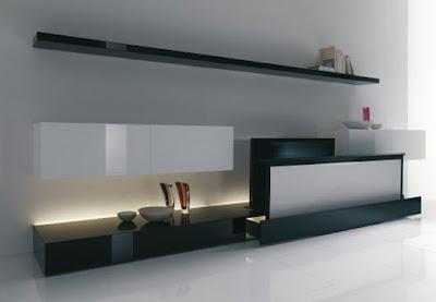 Design Home Entertainment by Acerbis - Minimalist Decorating Idea