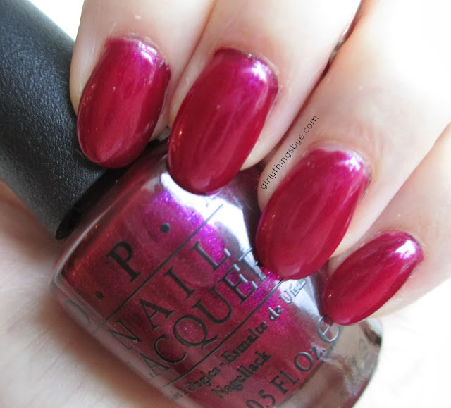 OPI C1116 $4 Target, swatch, @girlythingsby_e