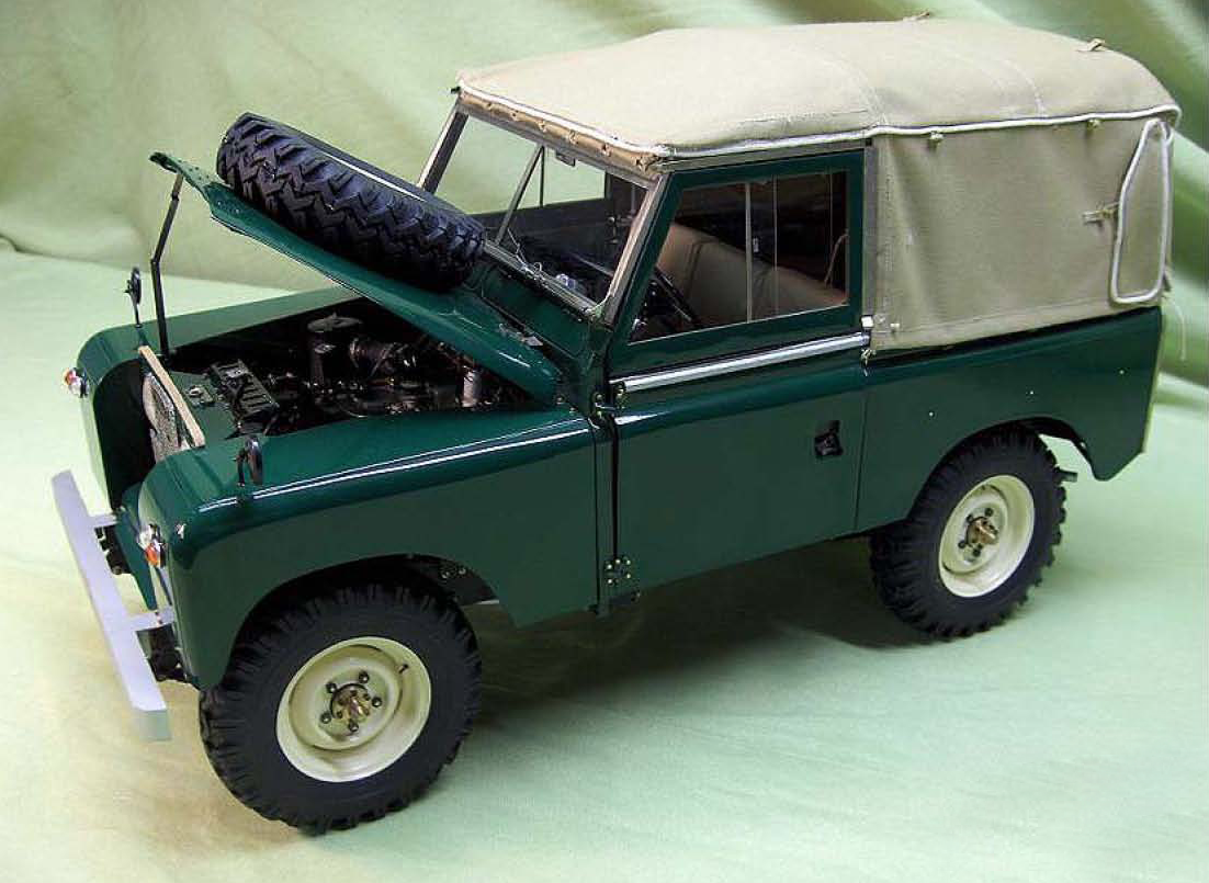 dioramas and clever things incredible land rover model. Black Bedroom Furniture Sets. Home Design Ideas