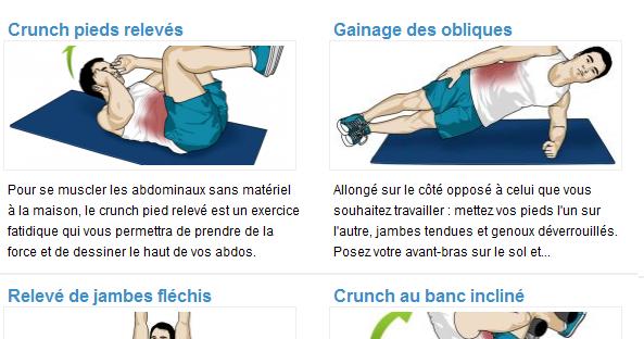 musculation et fitness comment se muscler les abdos. Black Bedroom Furniture Sets. Home Design Ideas