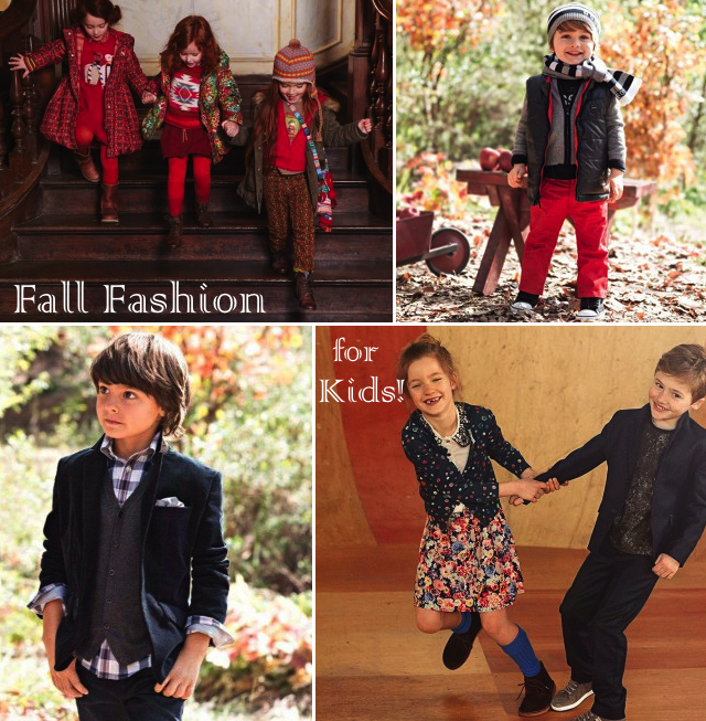 Fall style and outfit ideas for kids