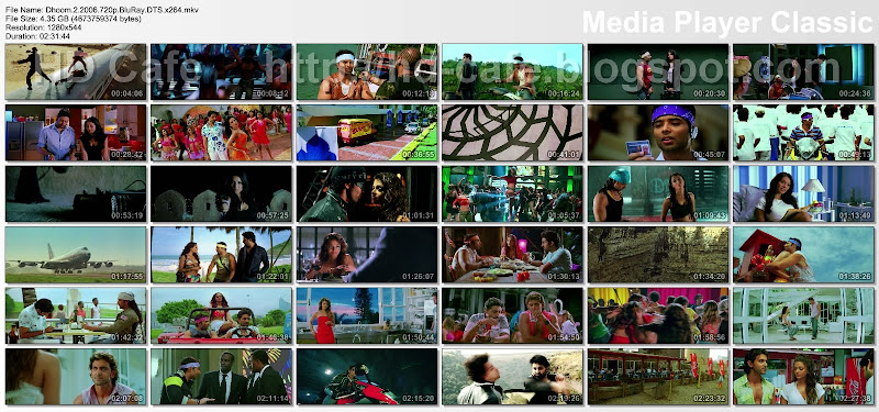 Dhoom 2 2006 video thumbnails