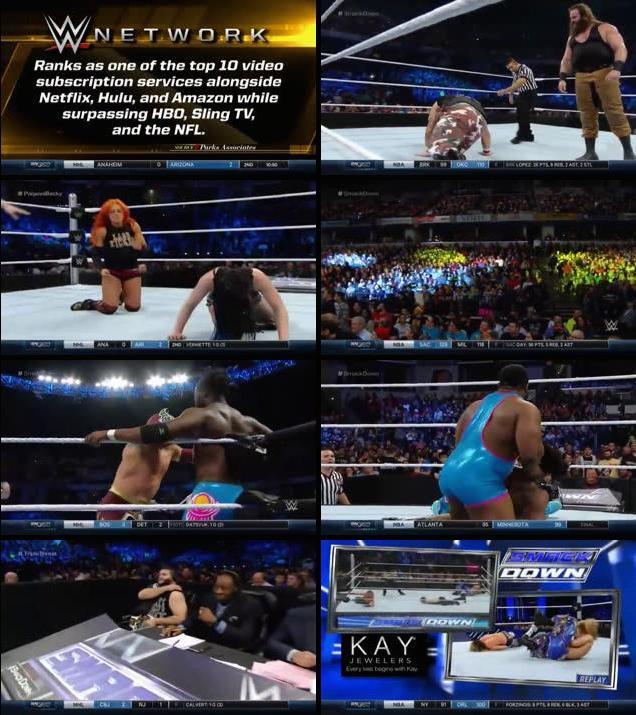 WWE Thursday Night Smackdown 26 Nov 2015 HDTVRip 480p