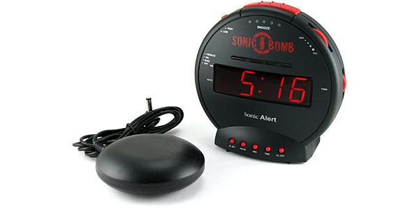 15 Jam Alarm Terunik di Dunia: Sonic Bomb Alarm Clock