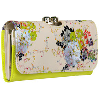 Effima Summer Bloom Matinee Purse In Green