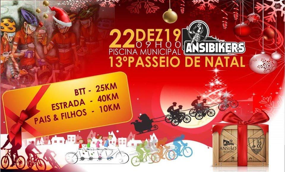 13º Passeio BTT/Ciclismo de Natal