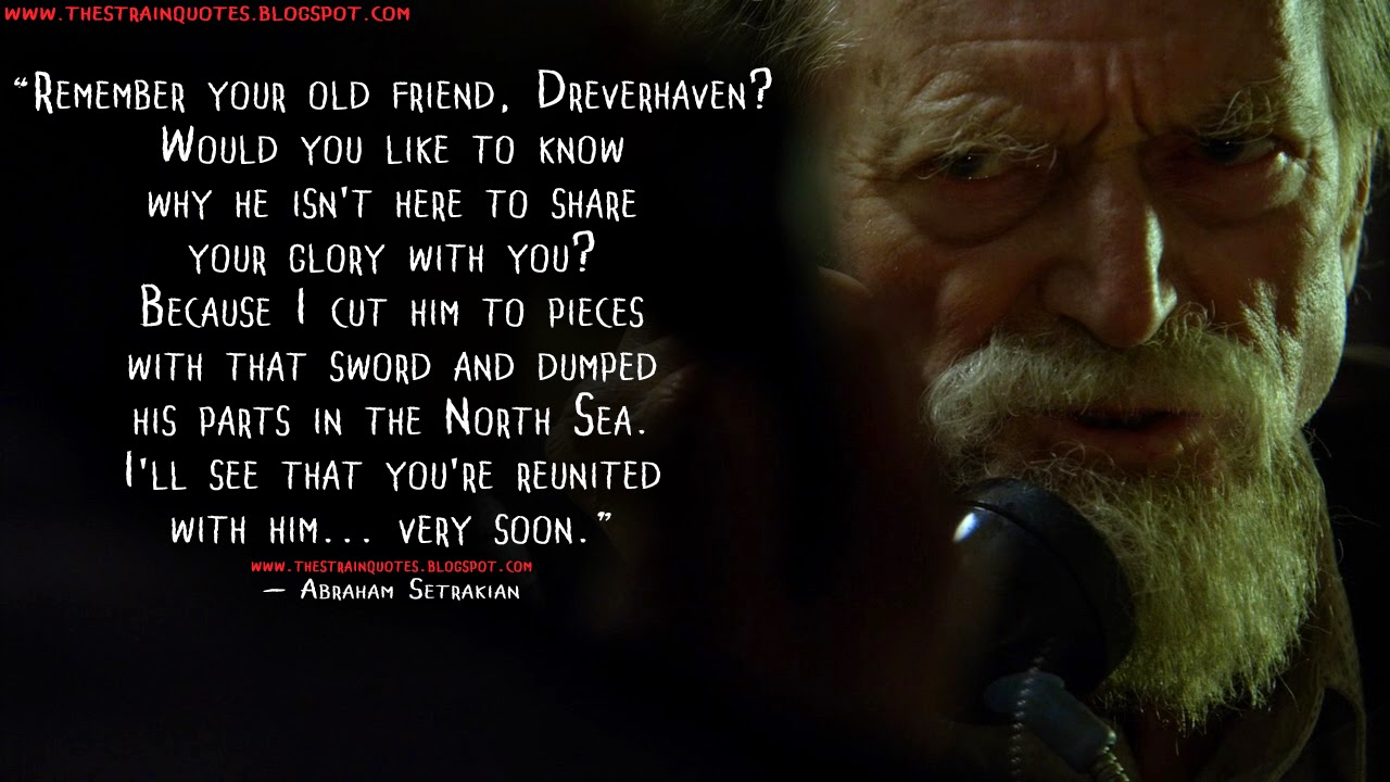 Your old friend dreverhaven would you like to know why he isn