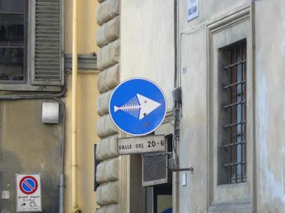 Señales de Trafico en Florencia