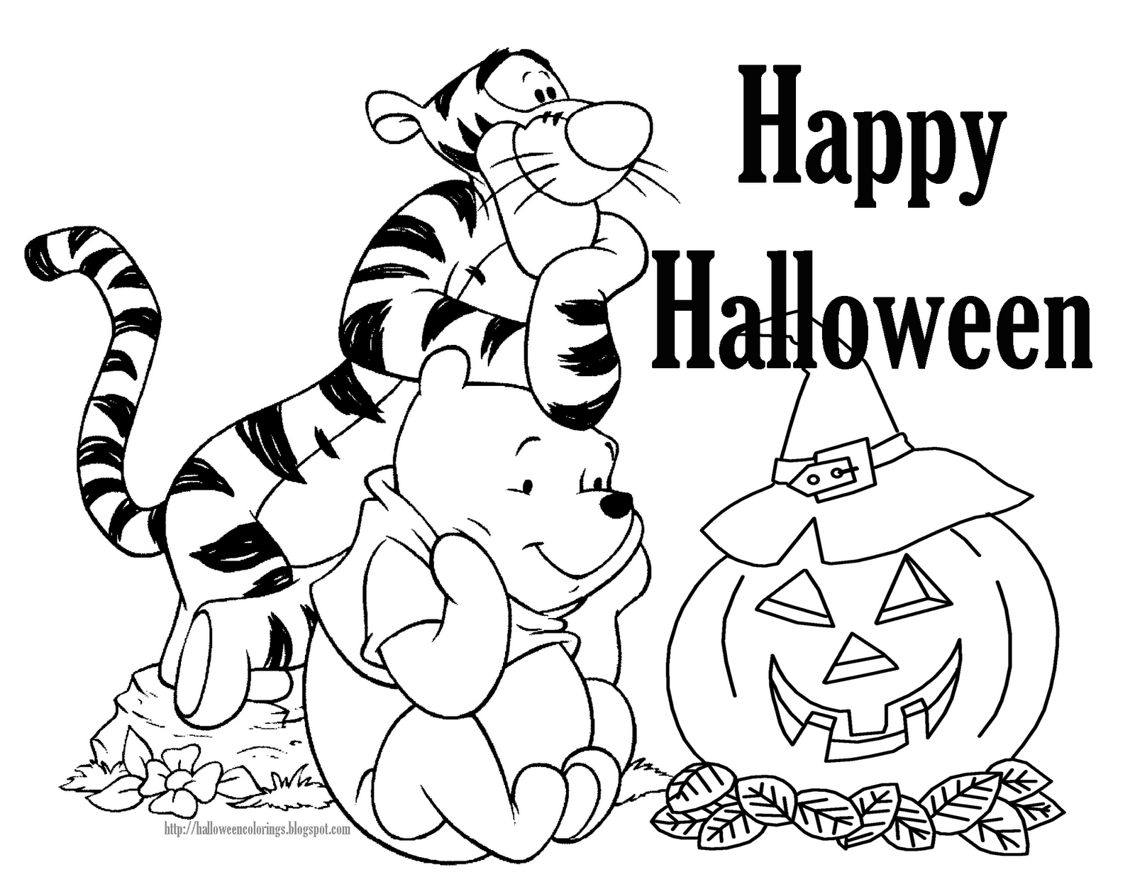 halloween coloring pages printable - Free Halloween coloring pages, Halloween printables