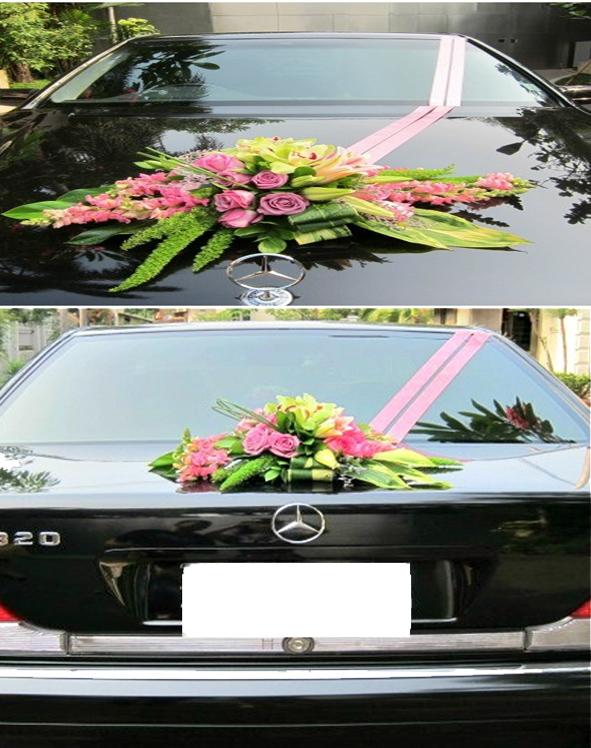 Bunga Hias Mobil Pengantin; sukses
