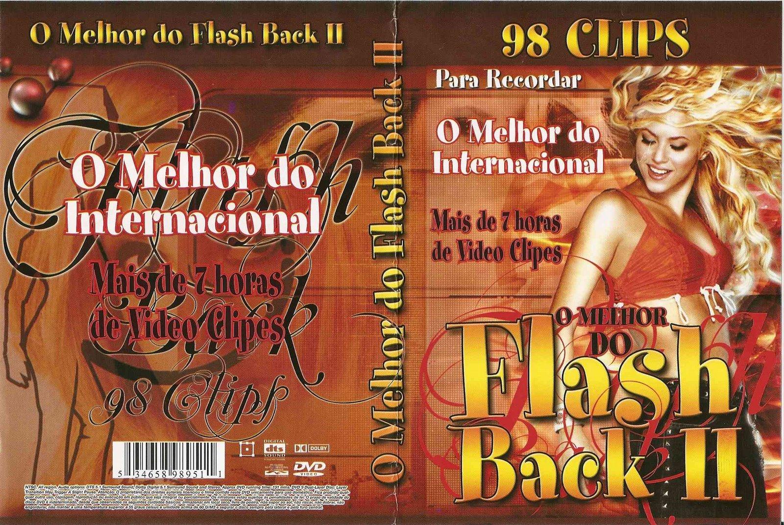 Melhor Do Flash Back Internacional Vol 1 2 E 3