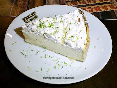 Rancho do Cupim: Torta de Limão