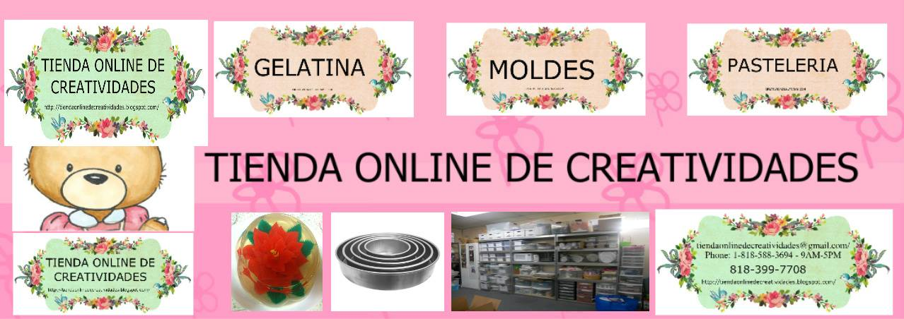 TIENDA ONLINE DE CREATIVIDADES