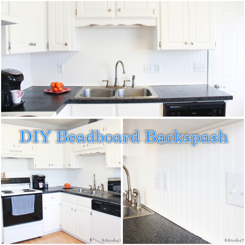 Diy Beadboard Backsplash