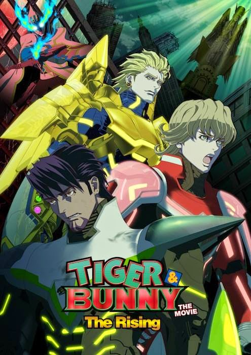 Tiger and Bunny Movie 2: The Rising