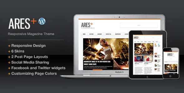Ares - Responsive Magazine Newspaper WP Theme