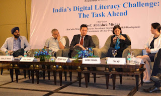 An Event on Digital Literacy was held at Radisson Hotel, Noida, on 2nd December 2015.