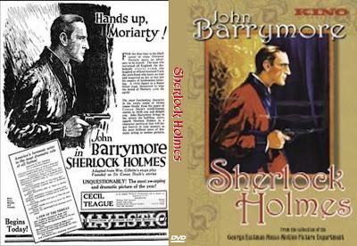 Sherlock Holmes | 1922 | Sherlock Holmes (Moriarty) , Cover, carátula, Dvd