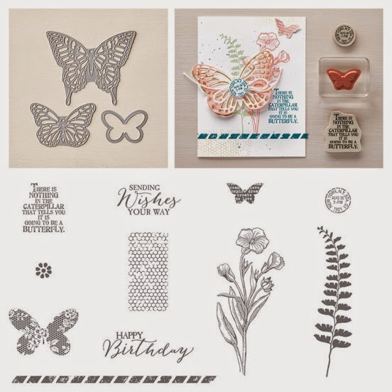 Butterflies Thinlits Bundles (Dies + Butterfly Basics stamp set)