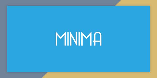 Minima Responsive Blogger Template