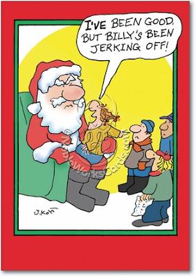 Billy's Been Jerking Off Santa