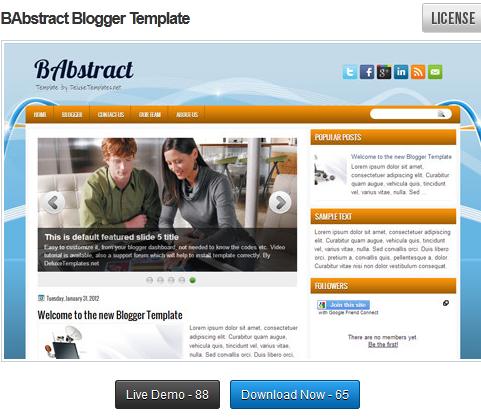 Tutorial mengganti template blogger 1
