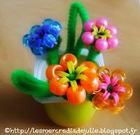 http://lesmercredisdejulie.blogspot.fr/2014/05/bracelets-elastiques-bouquet-de-fleurs.html