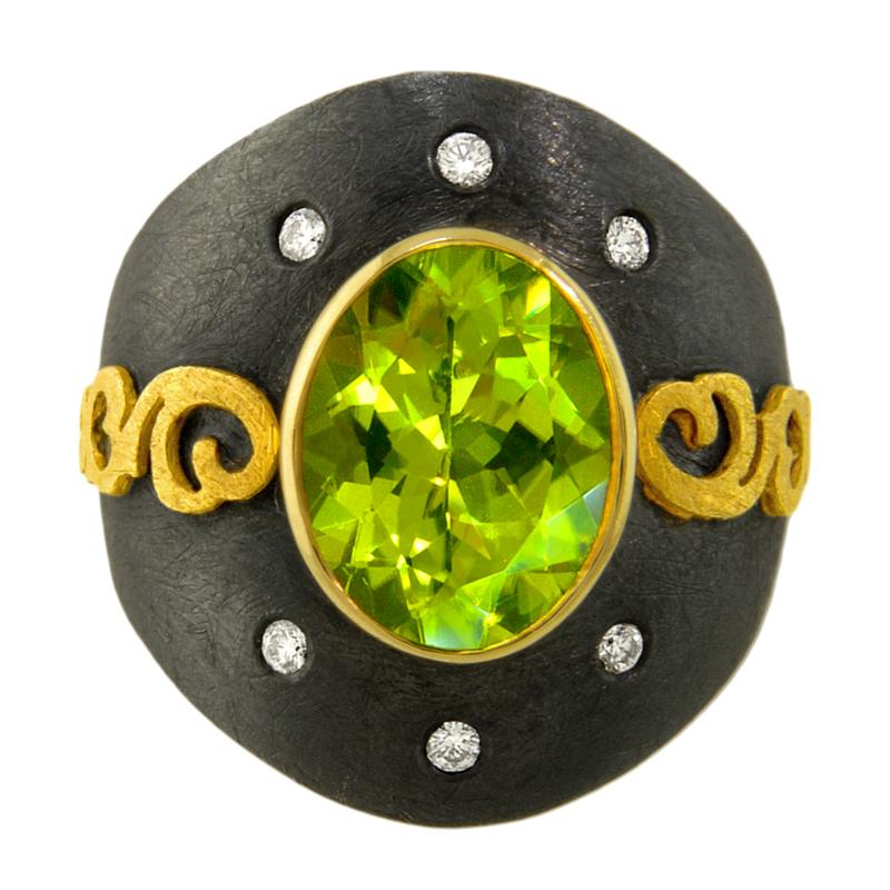 Alishan Peridot Ring