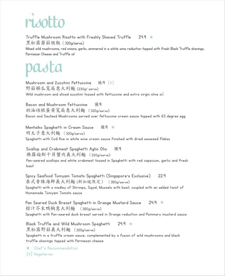 Dazzling Cafe Menu Prices