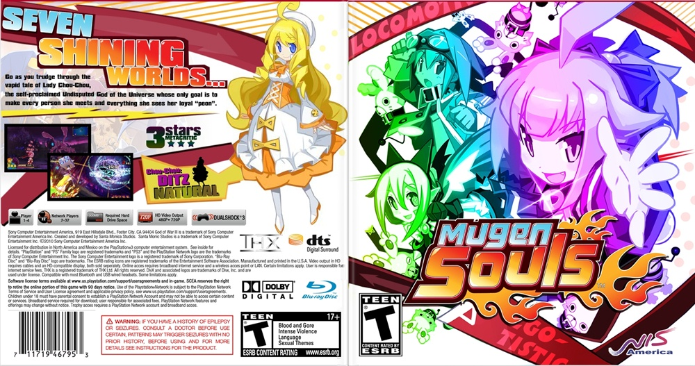 Mugen Souls PC Game Free Download Poster