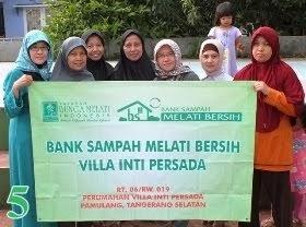 Bank Sampah Melati Bersih Villa Inti Persada