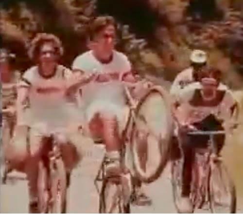 Propaganda das Bicicletas Monark em 1978: modelo com barra forte, antecessora da série BMX.