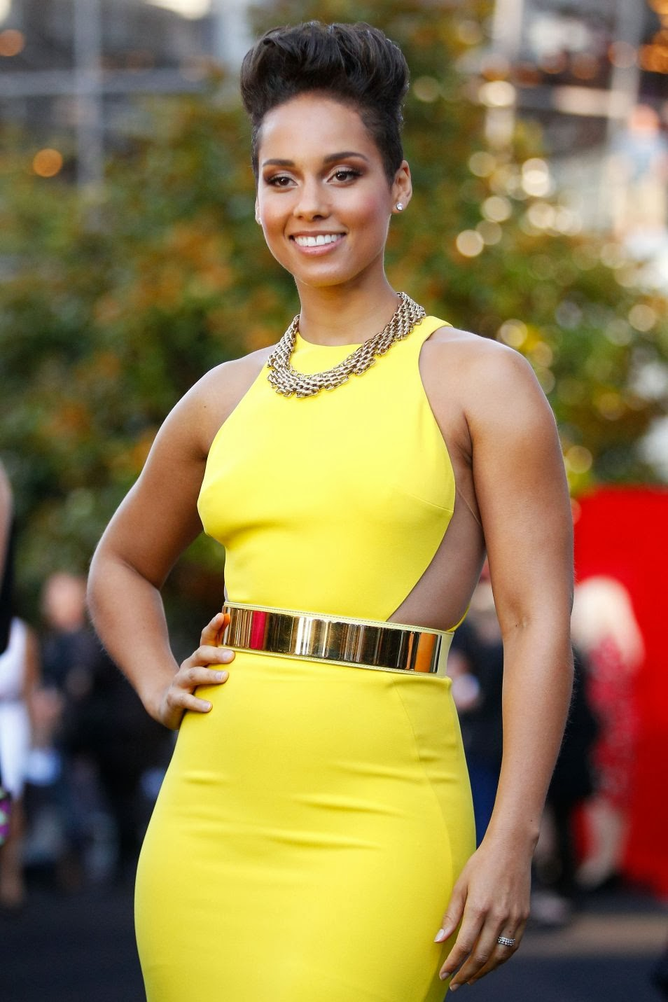 Gorgeous Alicia Keys at 27th Annual ARIA Awards 2013
