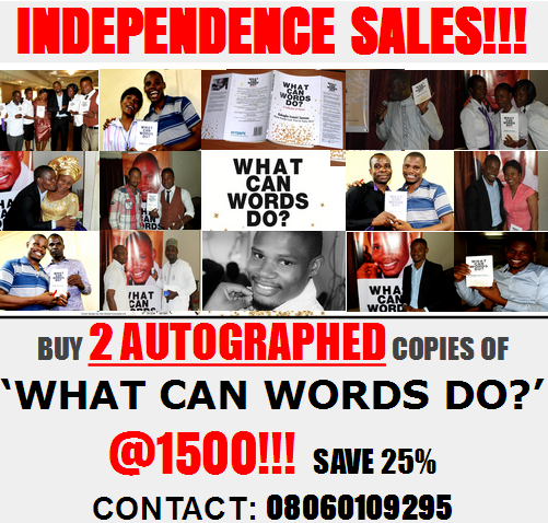 'WHAT CAN WORDS DO?' GET YOUR COPY