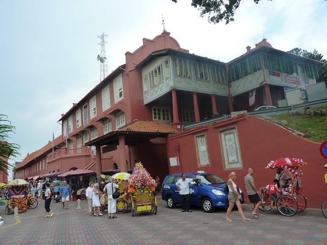 el Stadthuys, Malaca, Malasia